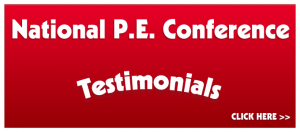 Elementary PE Games National Testimonials